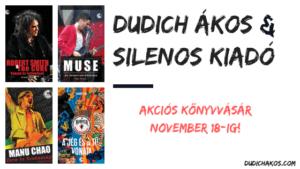 Dudich ákos és silenos akció: két könyv egy áráért